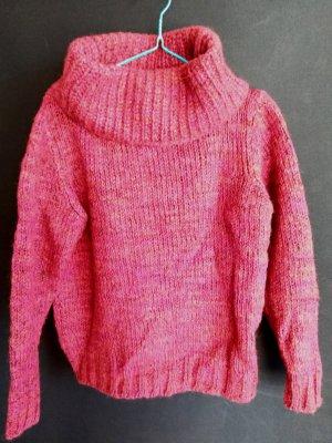 Oversized Pullover mit Alpakawolle