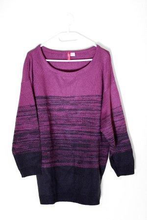 Oversized Pullover mit Farbverlauf
