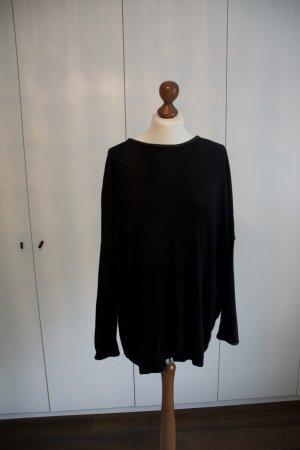 Oversized Pullover mit Lederdetails von Won Hundred