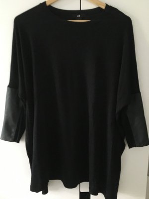 Oversized-Pullover mit Patches * Gr. XS/S * H&M