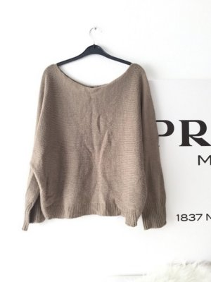 Oversized Pullover Nude