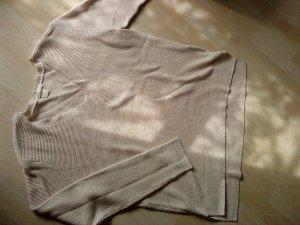 oversized Pullover Nude Größe M