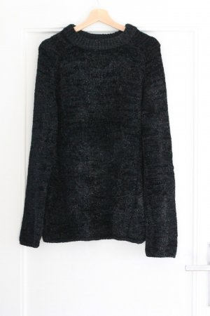 & other stories Oversized Sweater black polyamide
