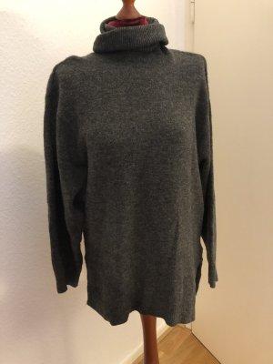 H&M Pull oversize gris-gris foncé