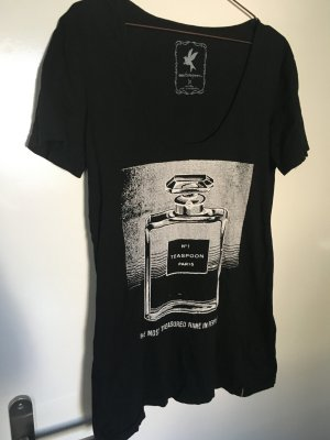 Oversized schwarzes Tshirt