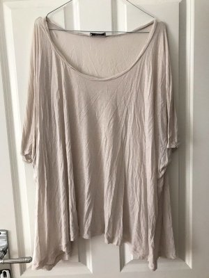 Acne Top extra-large blanc cassé