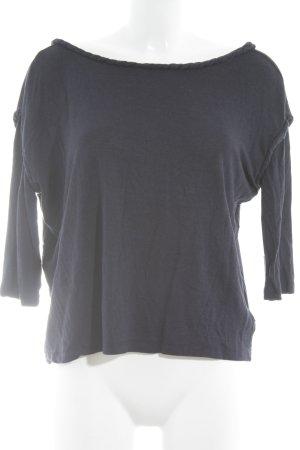 Oversized shirt donkerblauw casual uitstraling