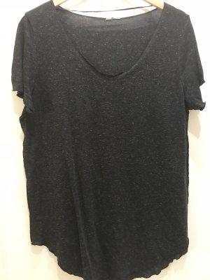 Oversized Shirt dunkelgrau