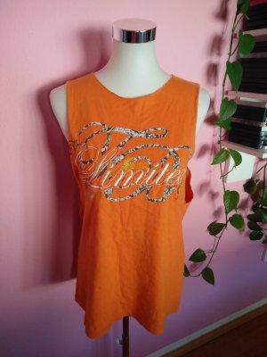 Oversized Shirt in orange (K2)