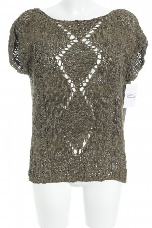 Oversized Shirt khaki-olivgrün extravaganter Stil