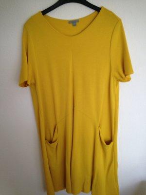Oversized Shirt- Kleid in dunklem Gelb von COS, Gr. 40