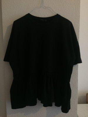 Oversized Shirt mit Schößchen