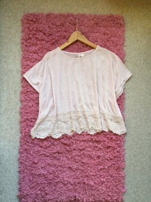 H&M Divided Oversized Shirt pink