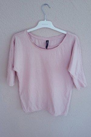 Oversized Shirt roséfarben