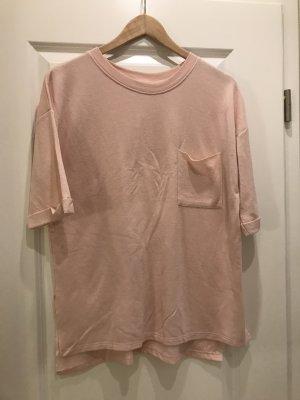Oversized Shirt von Bershka rosa