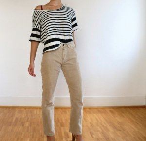 Roxy Gestreept shirt wit-zwart