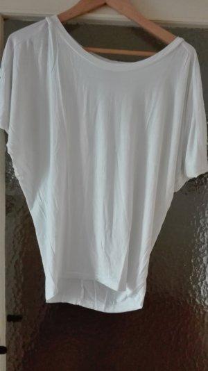 Oversized Shirt weiß schulterfrei Lascana