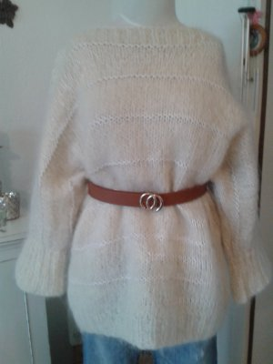 Knitted Sweater natural white-oatmeal