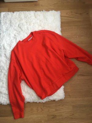 Weekday Sweatshirt rouge