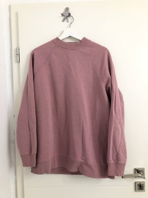 Oversized Sweatshirt lang rosa
