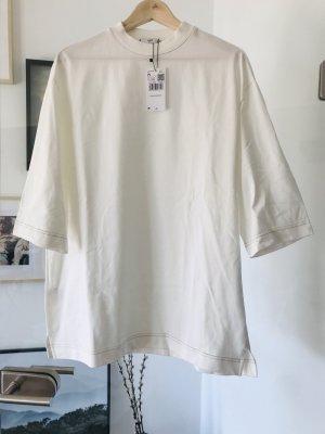 Mango Oversized shirt wolwit