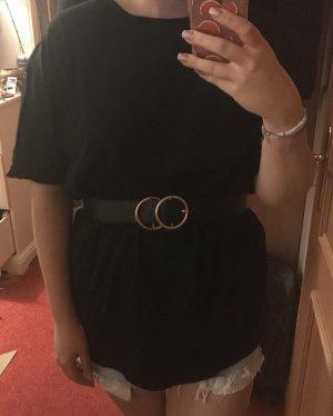 Oversized T-Shirt Kleid Basic