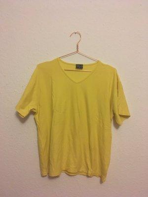Oversized T-Shirt V-Ausschnitt