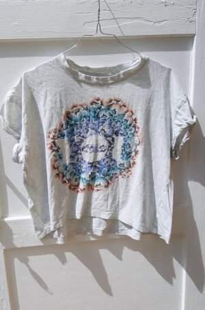 Oversized Tshirt Blumenprint