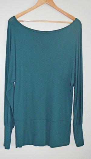 Oversized Viscose Shirt mit Fledermausärmeln von H&M Sz S / 36