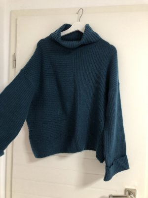 Amisu Oversized Sweater petrol