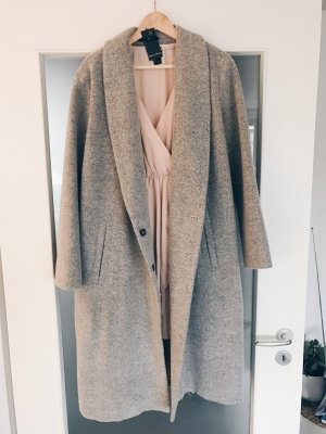 Oversized Wollmantel von Marc O'Polo Blogger Style in Grau, ungetragen, NEU