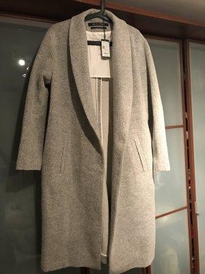 Oversized Wollmantel von Marc O'Polo Blogger Style in Grau, ungetragen, NEU