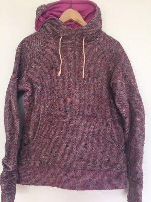 Capuchon sweater veelkleurig