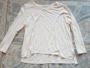 Overzised Langarm-Shirt mit Glitzerfäden