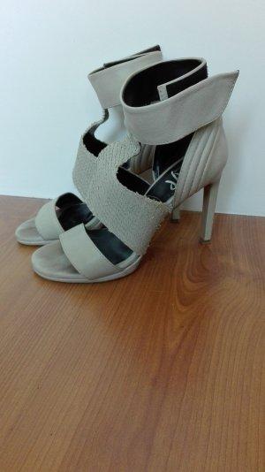 Ovye' By Cristina Lucchi Pumps Schuhe echtes Leder 36 Designer