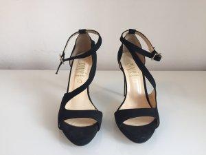 Ovye High Heels schwarz und offen Gr.38 Neu