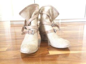 Ovye italienische Leder Booties