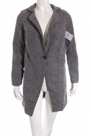 Owind Wool Blazer black-white graphic pattern classic style