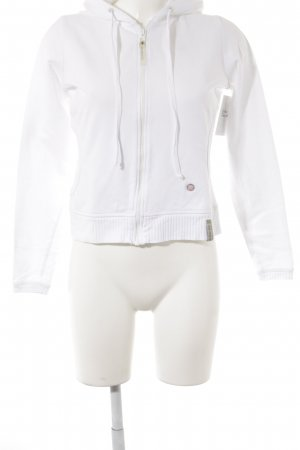 Oxbow Sweat Jacket white casual look