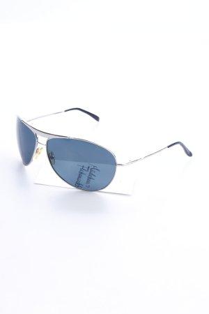 Oxen Pilot Brille schwarz Casual-Look