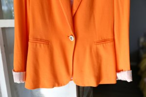 Oxford Blazer in Neonorange