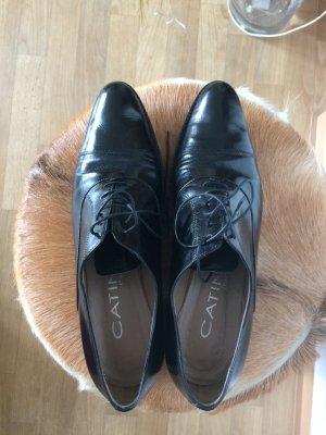 Catini Italia Chaussure Oxford noir cuir