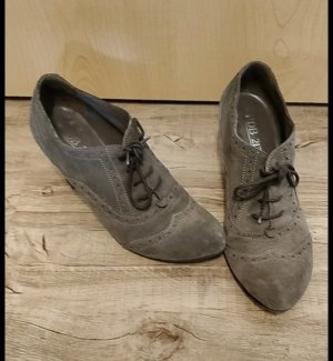 Oxfords dark grey-grey brown