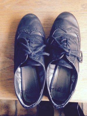 Oxford Schuhe Halbschuhe