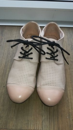 H&M Zapatos estilo Oxford rosa