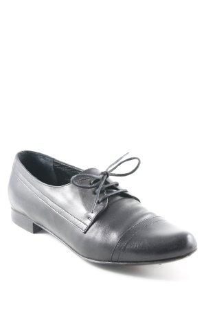 Zapatos estilo Oxford negro estilo «business»