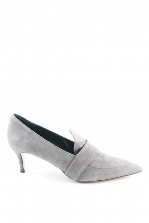 Oxitaly Zapatos Informales gris estilo «business»