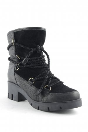 Oxmox Booties schwarz Street-Fashion-Look