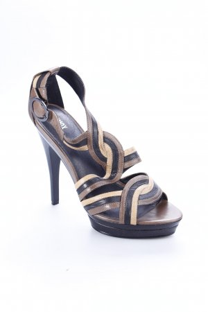 Oxmox High Heel Sandaletten mehrfarbig Ethno-Look