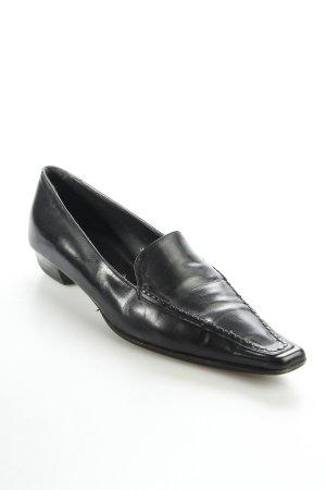 Oxmox Schlüpfschuhe schwarz Eleganz-Look